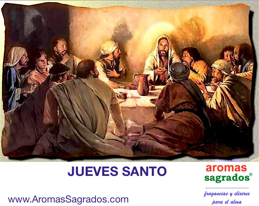 #JuevesSANTO: la Última Cena de Jesús con sus discípulos. Se inicia el triduo pascual, preparación para la #Pascua https://t.co/Q1W04HqvJi