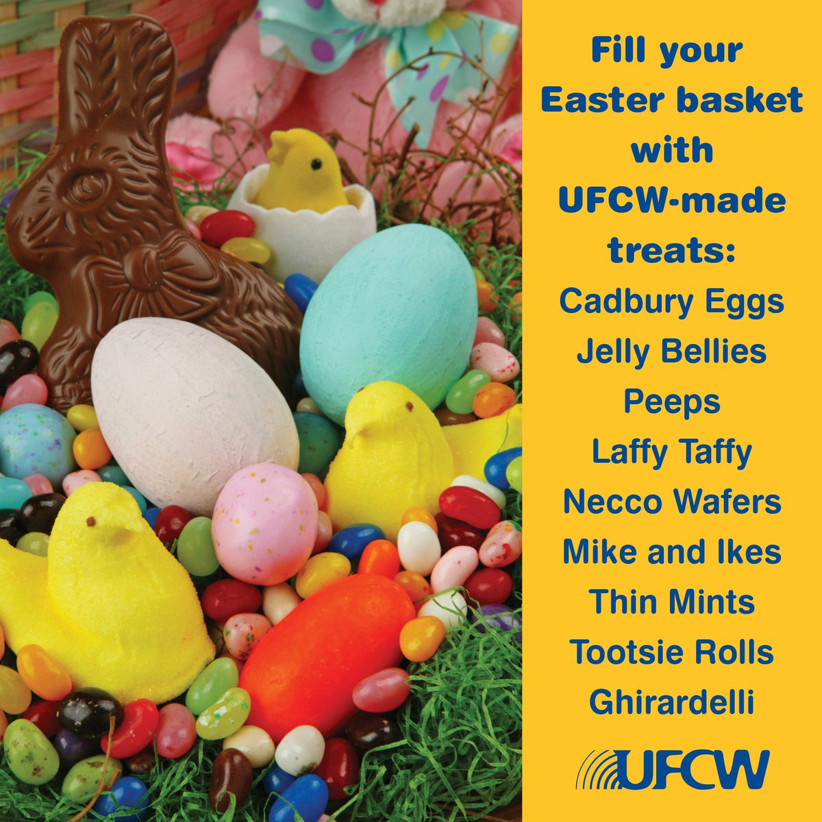 Support your brothers and sisters by shopping union-made this Easter! https://t.co/6iXOeQ4No9
