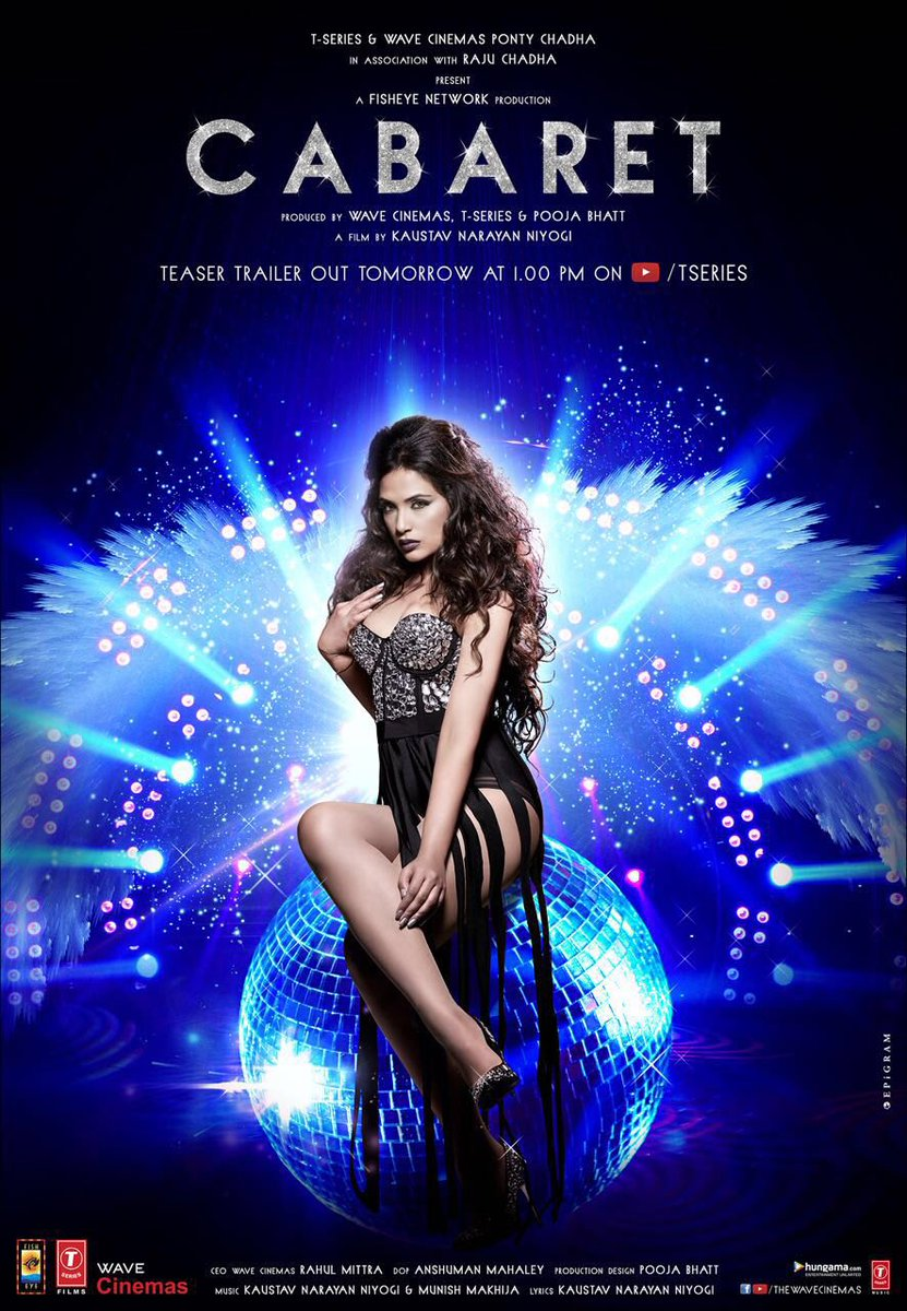 Cabaret Official Poster starring Richa Chadha