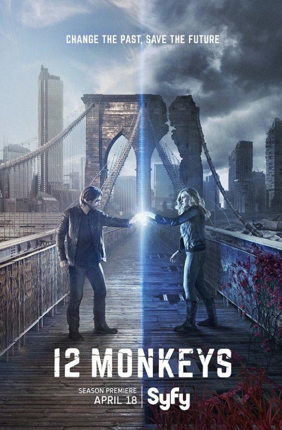 #12Monkeys Season 2 poster is here! https://t.co/7SwYRspdBg