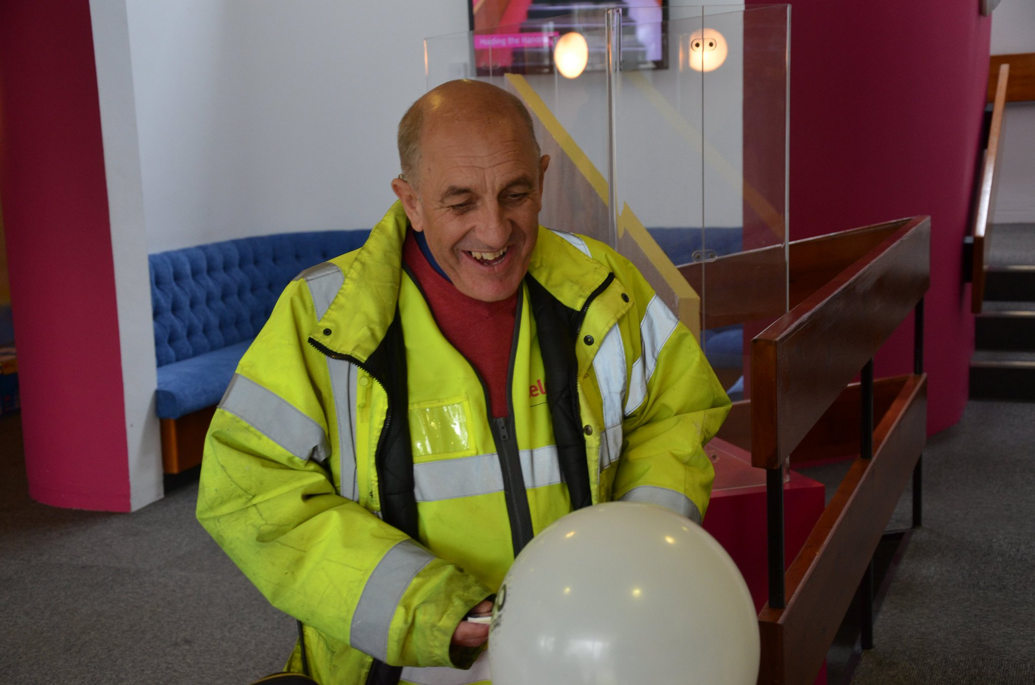 Happy 60th birthday (for Monday) to a Celotex legend, Stan, who is the friendly & happy face at our gatehouse https://t.co/8pc6qUV069