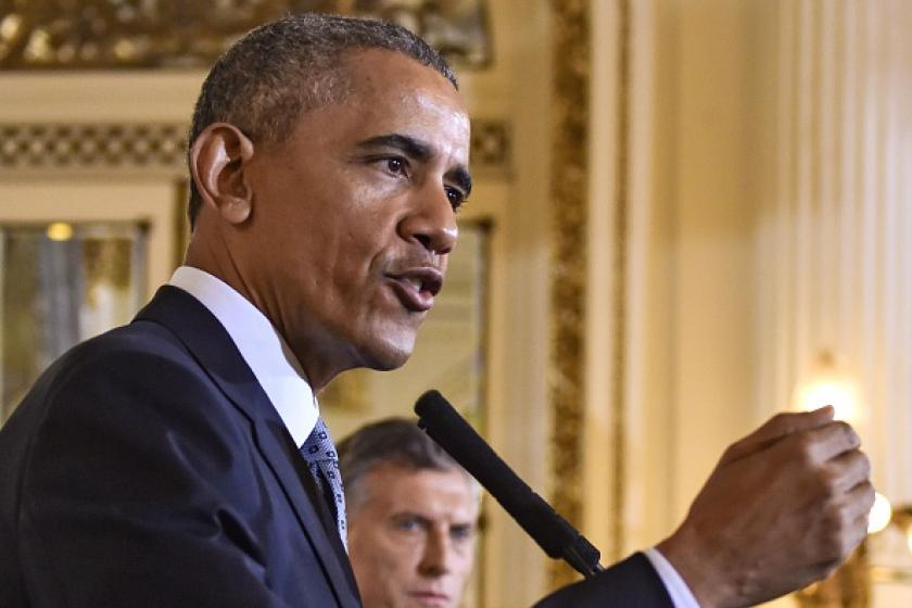 Obama trashes Americans again in Argentina