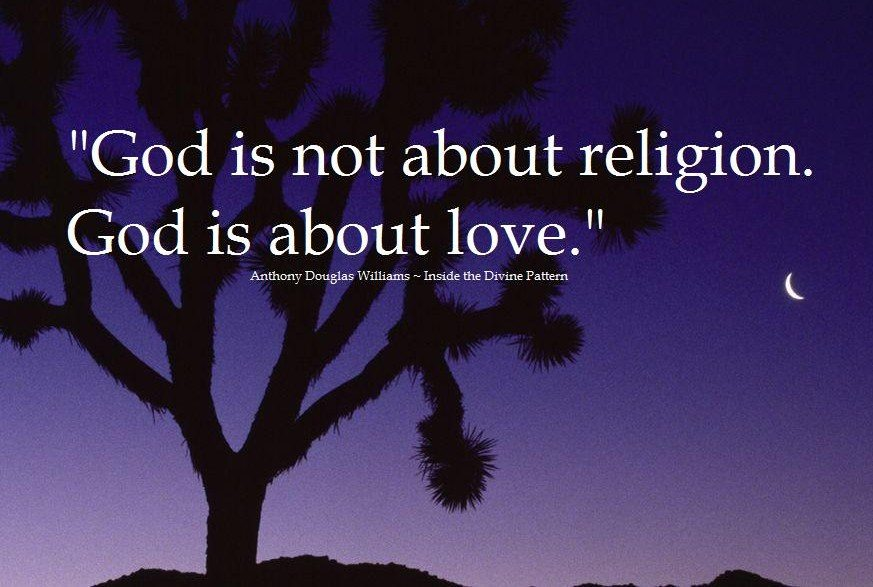 &quot;God is not about religion. God is about #love.&quot; ~ A.D. Williams #quotes #quote<br>http://pic.twitter.com/aJ5gJMm536