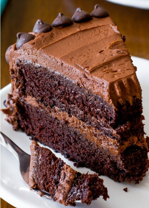 Triple Chocolate Layer Cake. https://t.co/7vWPONwduH