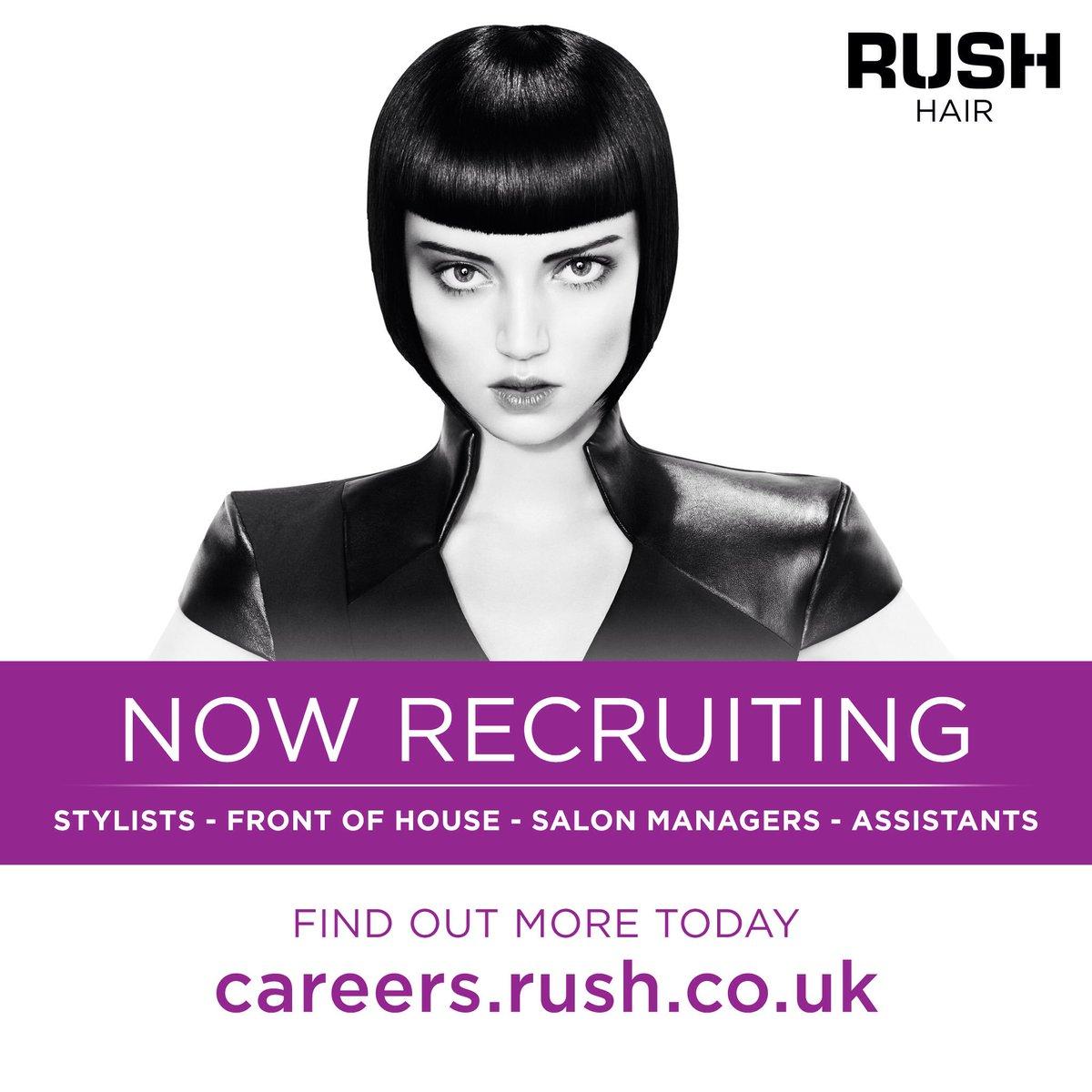 Rush hair careers