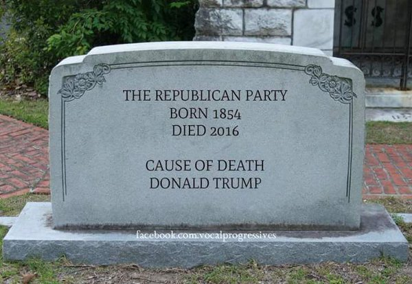 Лидеры республиканской партии США отказываются поддерживать Трампа на президентских выборах - Цензор.НЕТ 4375