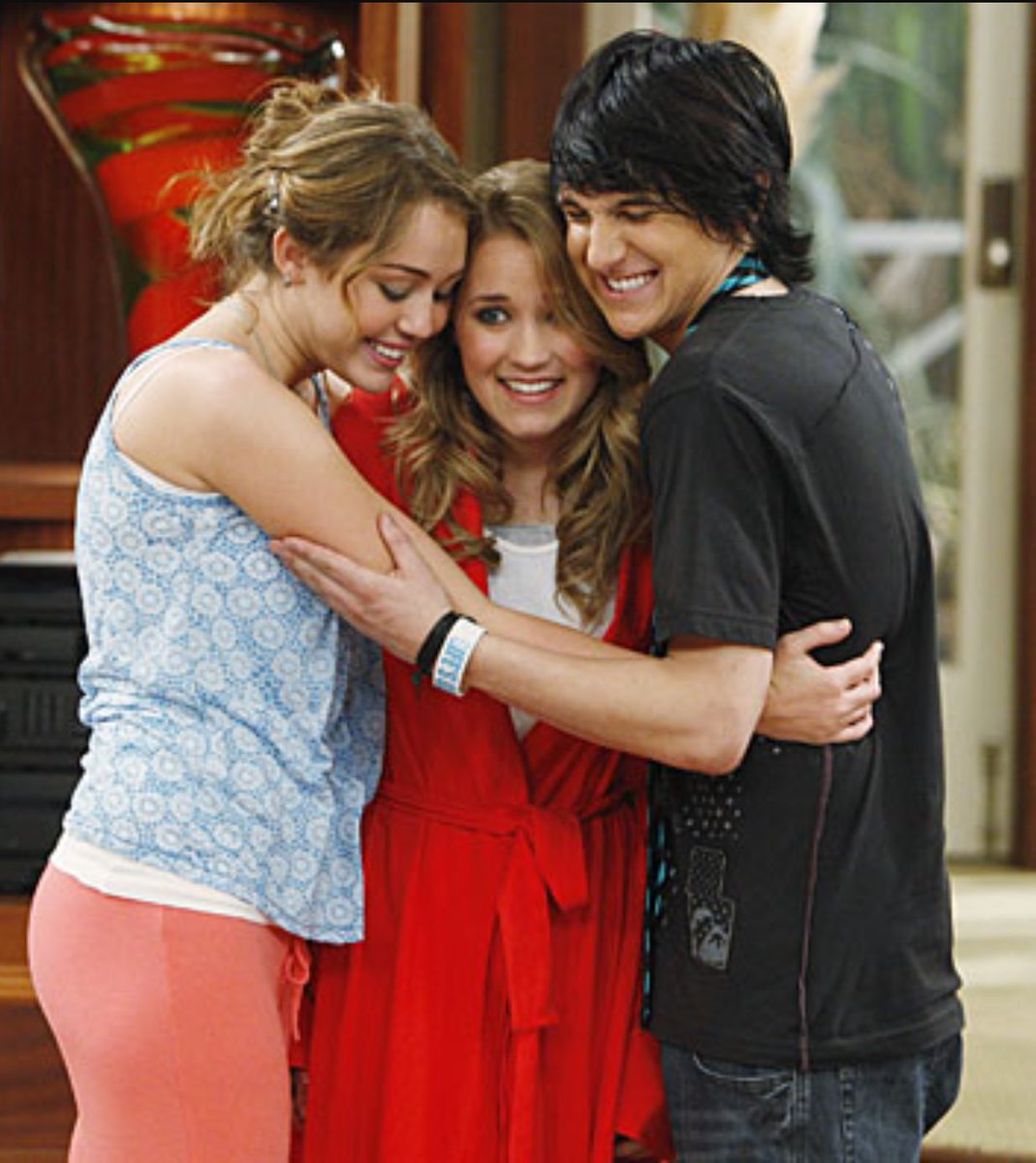 Emily Osment And Miley Cyrus 2013
