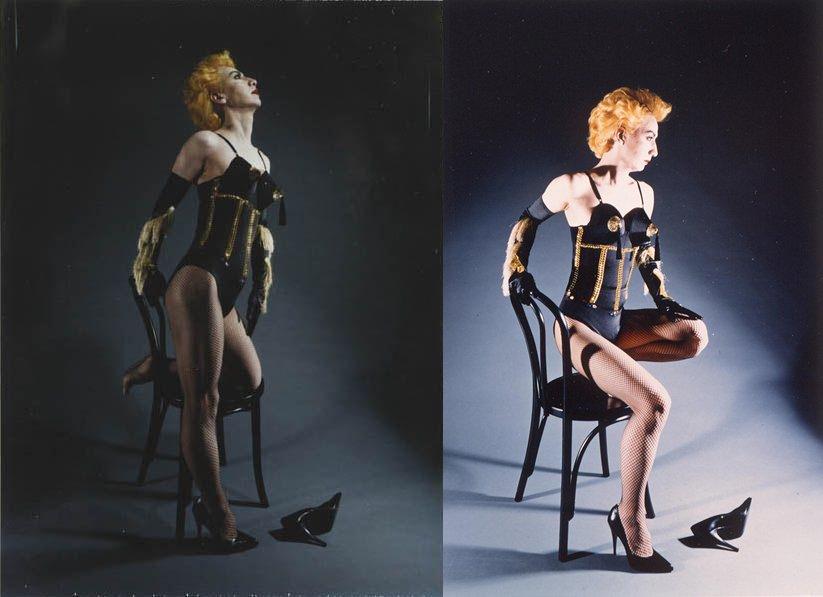 Artist #YasumasaMorimura as Madonna. <br>http://pic.twitter.com/mklhi7r0MB