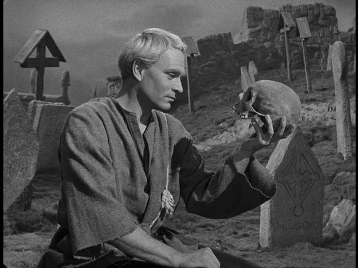 hamlet face to face with death Hamlet is musing about death, but whose death  the play within a play, the long soliloquies wherein hamlet faces the audience and speaks to them directly.
