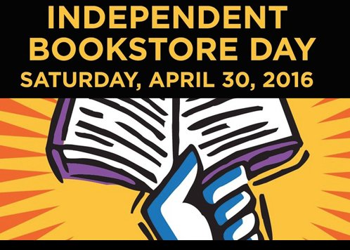Indie @BookstoreDay is coming! And yes, we'll have the @neilhimself coloring books. Promise. https://t.co/4KdEmZRQPx https://t.co/vNySn8thJE