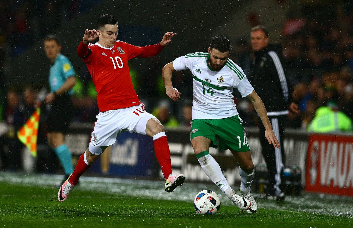 Video: Wales vs Bắc Ailen