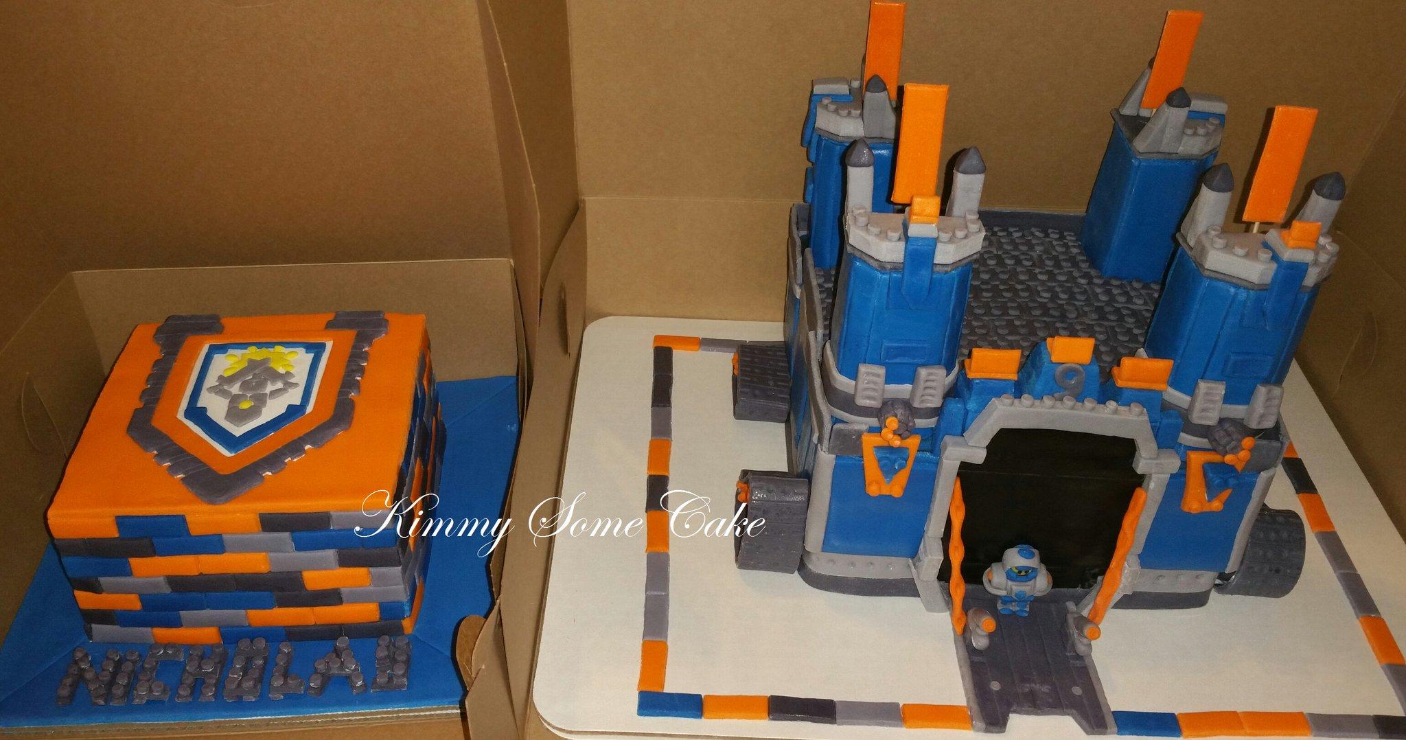 Kimmy On Twitter Quot Lego Nexo Knights Themed Birthday Cakes