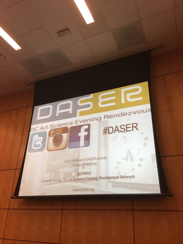 At the #daser. Really cool! Wish I could do graphic design for science, but I'm not gonna introduce myself. Lol. https://t.co/uR7rKejzyo