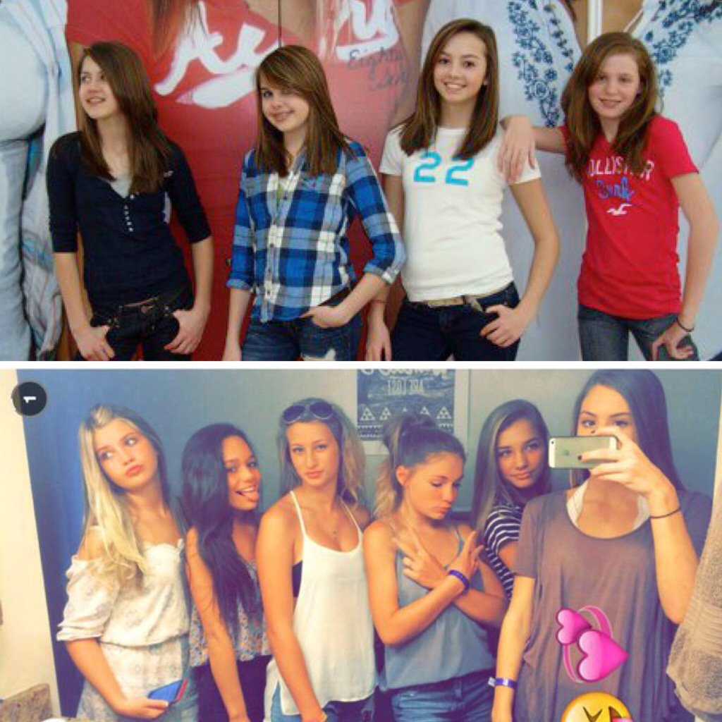 7th graders then and now meme