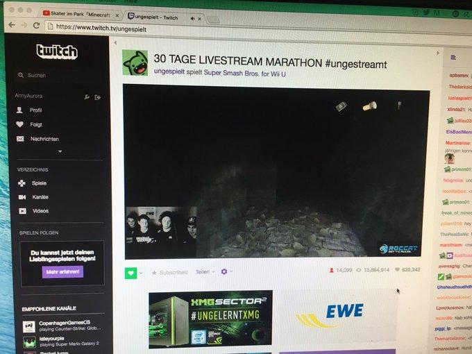 Jetzt noch den @unge Stream anschauen und ab ins Bett ?? #sub #twitch https://t.co/rFNgHi3I2v