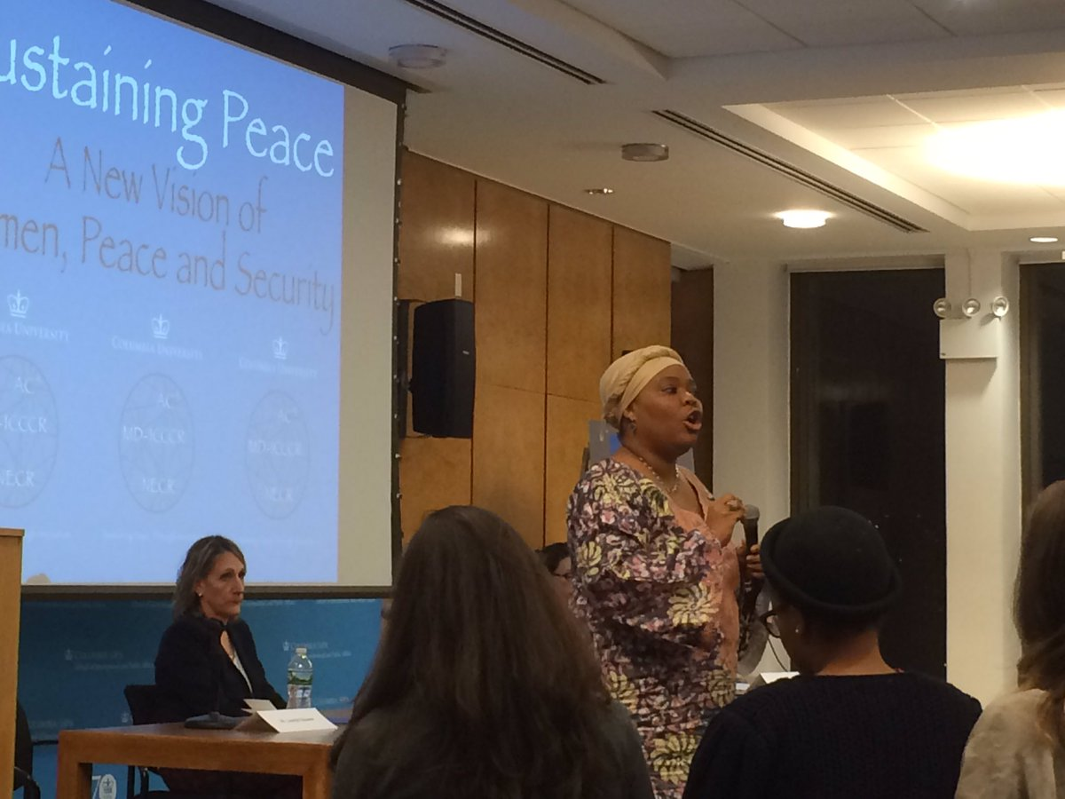 Evy1 must ask what has MY country done 2 contribute 2 this global nightmare? @LeymahRGbowee #cupeace @AC4Columbia https://t.co/kkoFPIogPT