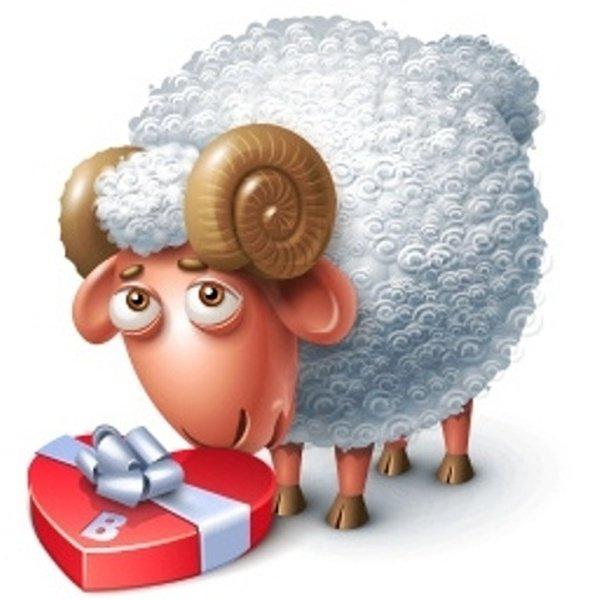 Картинки прозрачном, открытка с овечкой