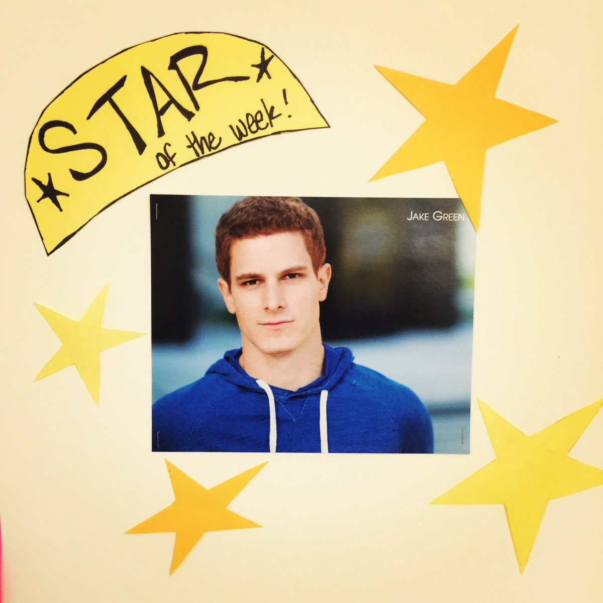 There's our #StarOfTheWeek @iamjakegreen! #TheCatch https://t.co/SxXoqv4iKw