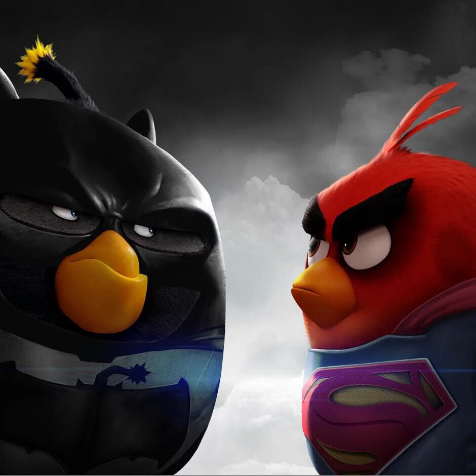 red angry birds movie