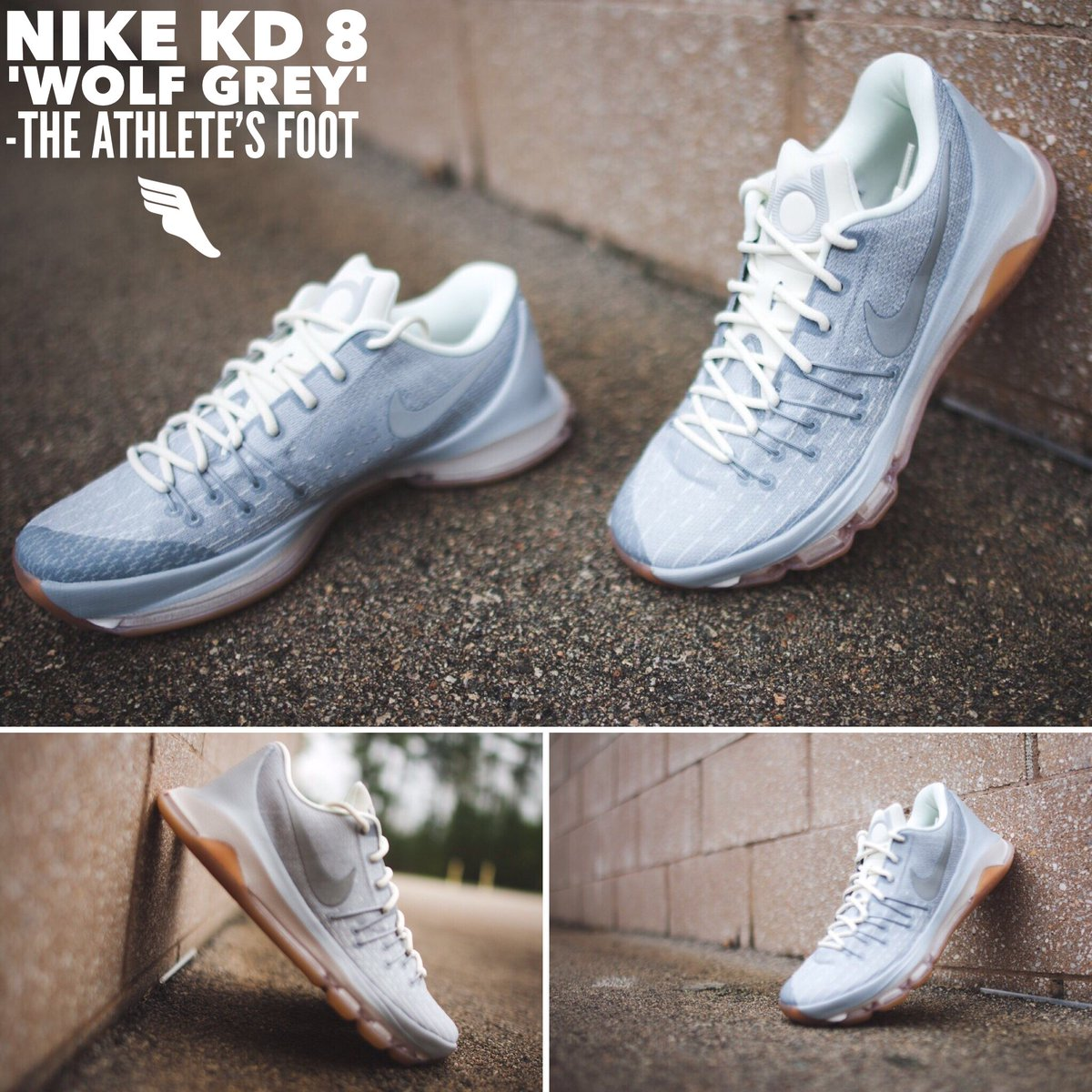 the best attitude 3b6ba 8abde ... official the athletes foot nc on twitter youll find the nike kd 8  easter at the