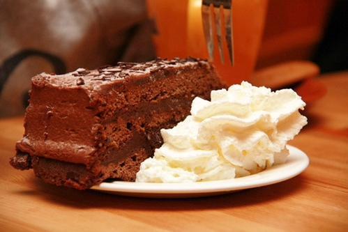 Decedent Chocolate Cake. https://t.co/QJBvXEChLS