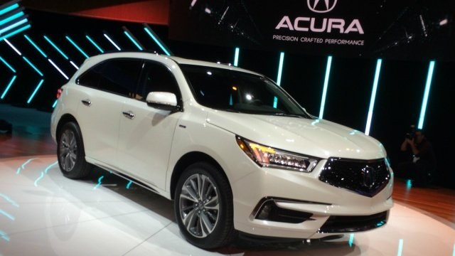 Acura S 2017 Mdx Gets A Sharper Design And Ful Hybrid Drivetrain Nyias Http Www Digitaltrends Ny Auto Show News Teasers Specs