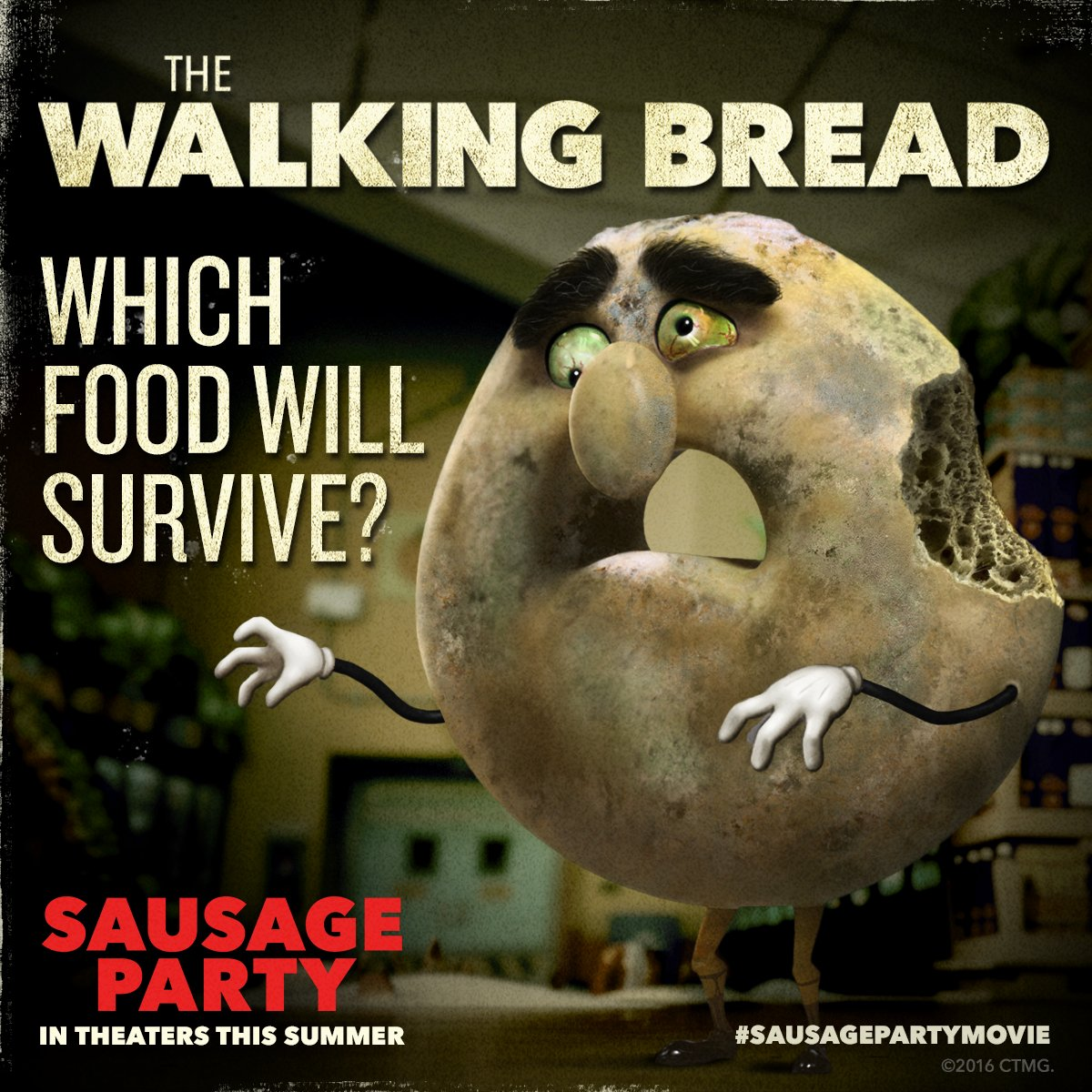 """Sausage Party Movie On Twitter: """"Which Food Will Survive"""