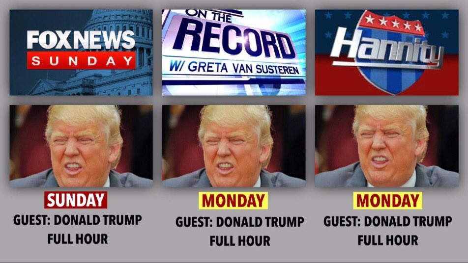 In case you can't get enough of Donald Trump on Fox News..