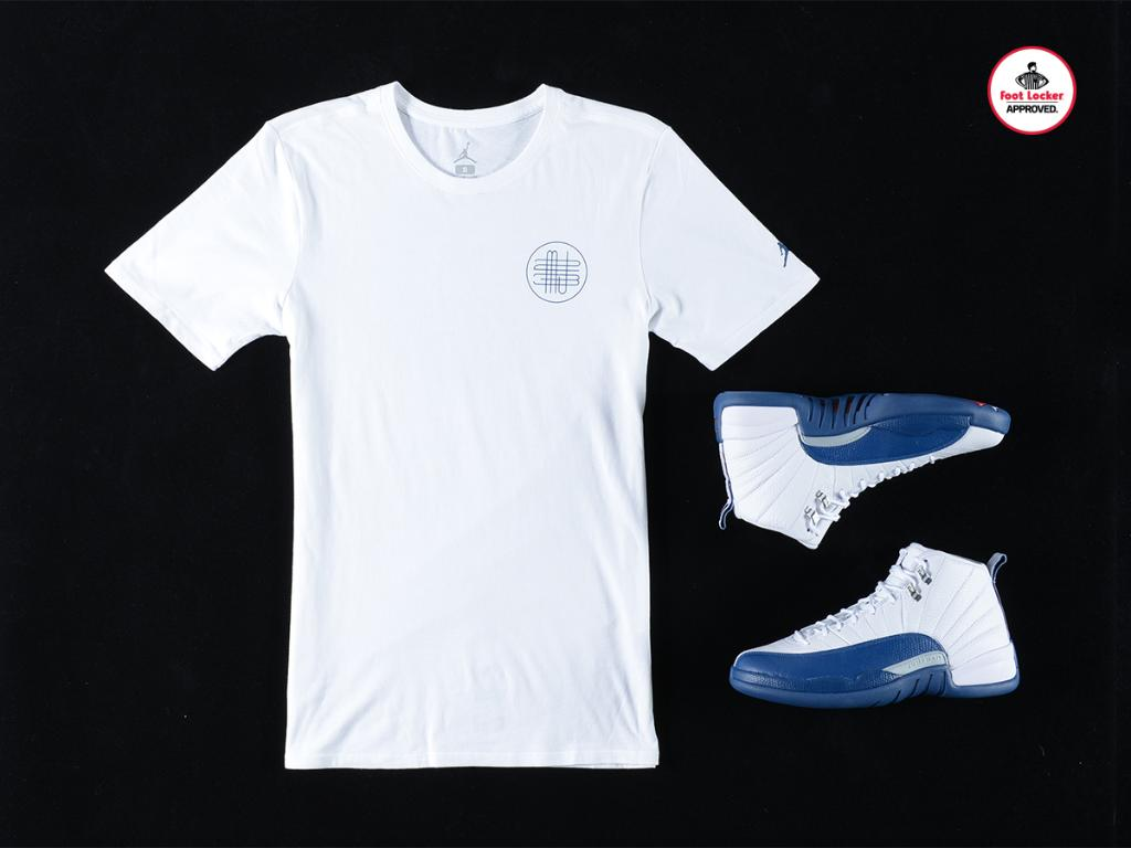 5c08378d5b3cc3 the jordan french blue collection new retro 12 master tee in stores and  online here