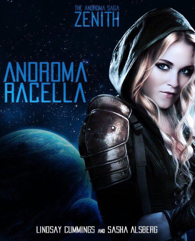 ZENITH : THE ANDROMA SAGA - SASHA ALSBERG and LINDSAY CUMMINGS ARC 01/18 YA