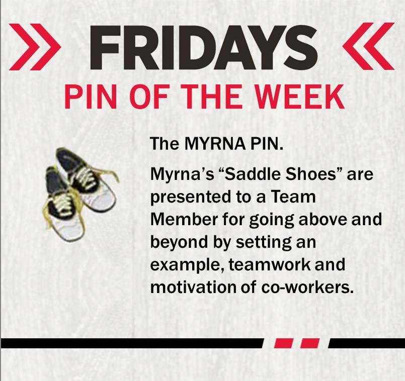 Up next, the Myrna Pin! #PinoftheWeek #TGIFlair pic.twitter.com/sTab12p2Kc