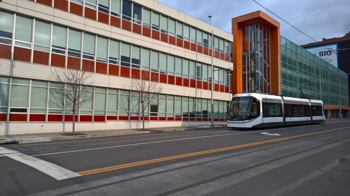 MT @bwlosinski: Snapped a pic of the @kcstreetcar in front of @BNIM while walking back from @thoumaycoffee https://t.co/xQhvDK9rzV