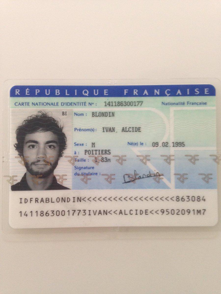 perdu carte d identité Stéphanie Protat on Twitter: