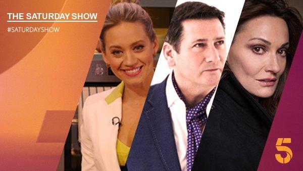 RT @SaturdayShow: We have @KimberlyKWyatt @TheTonyHadley and @DrSarahParish on the sofa tomorrow. Join us at 9:30am on @channel5_tv https:/…