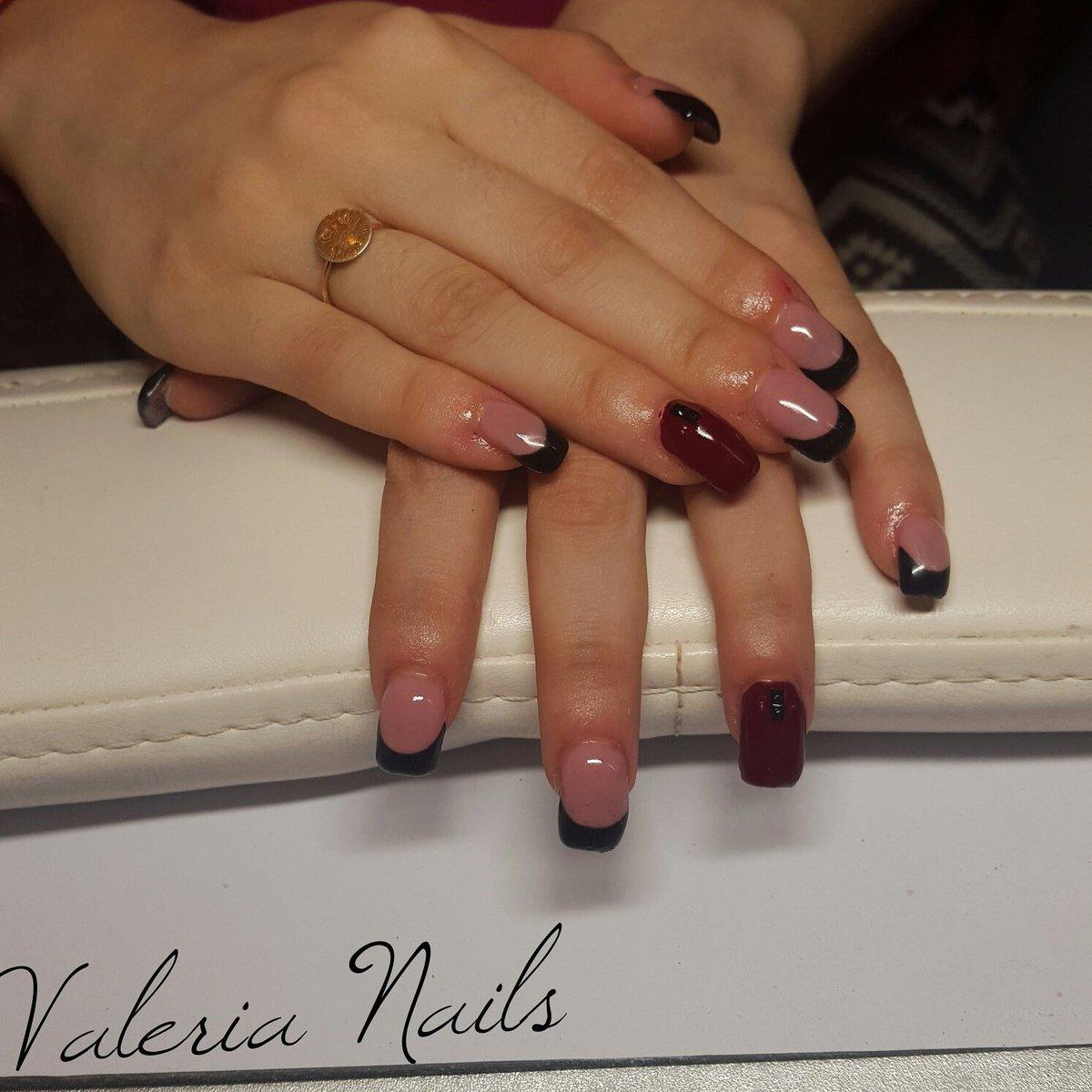 Valeria On Twitter Ricostruzione French Black Bordeaux Unghie Nails Gel Progressi Beautiful 2016 Tco ErY43SlxXB