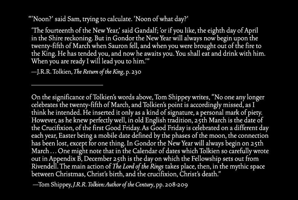 """J.R.R. Tolkien's often missed reference to Good Friday in 'The Lord of the Rings""""… #GoodFriday https://t.co/gLsUHvNjAz"""