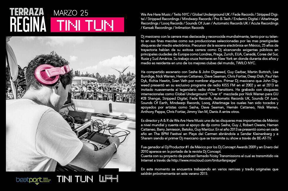 Tini Tun On Twitter Tonight Terraza Regina Unjodidodrama