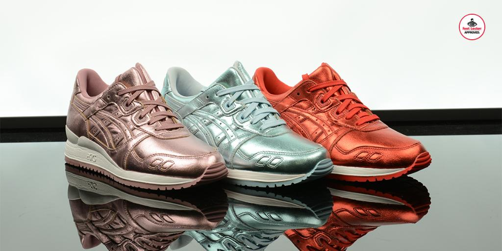 more colorways in the new women s asics gel lyte iii metallic collection  now in stores ebb7db886