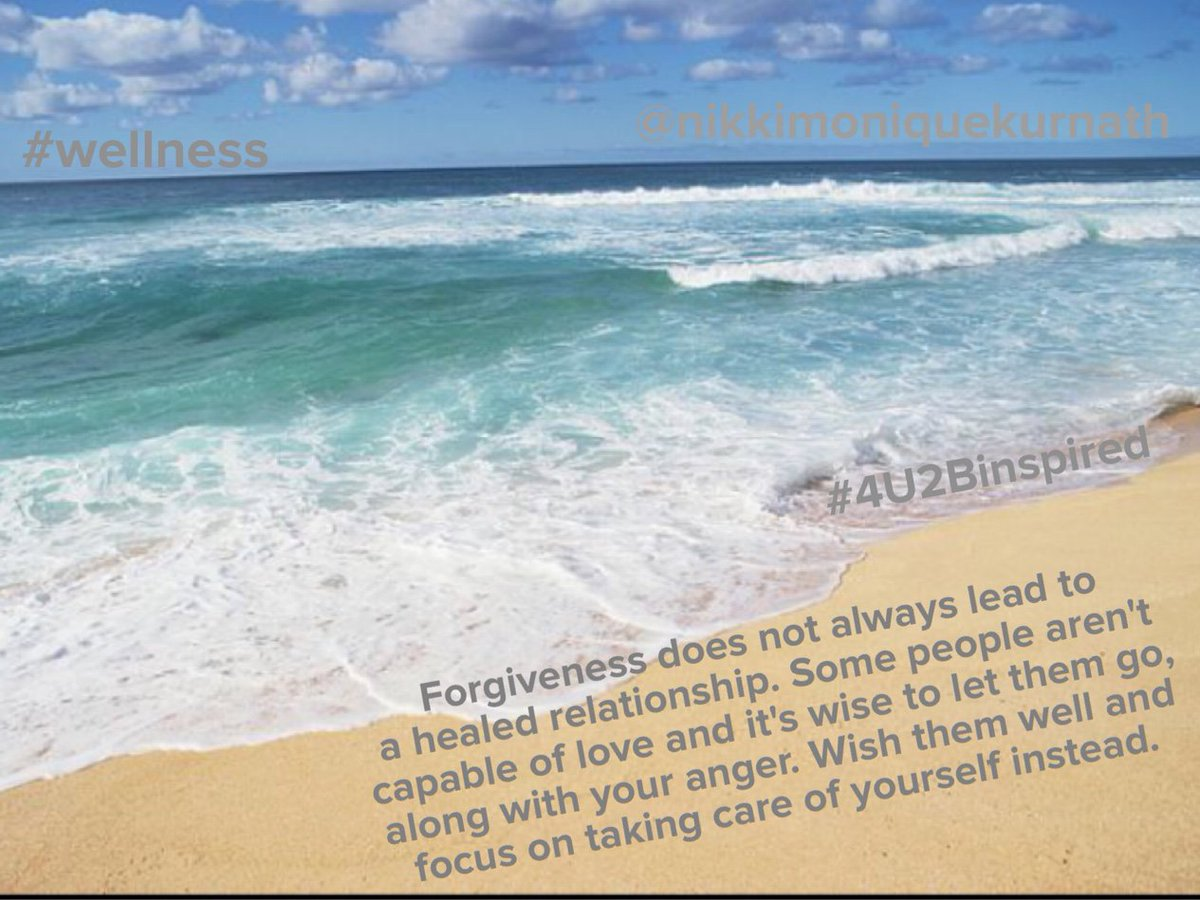 Forgiveness...what does it mean? Many say it's whe... #4U2Binspired #nikkimoniquekurnath  http://goo.gl/8nS0dd
