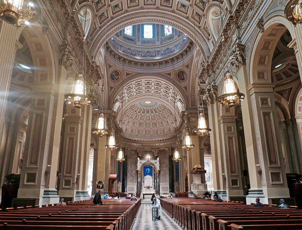 I wish the Catholic Church lent their spaces out to book readings and music shows. https://t.co/V1pphJMpKo