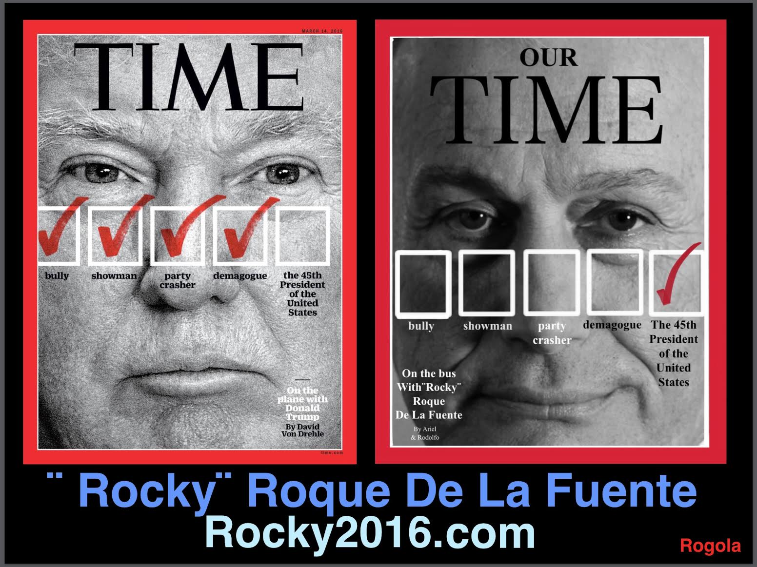 Roque Rocky De La Fuente On Twitter Alaska Caucus For Roque Rocky De La Fuente Today The Only Antidote To Trump Rockon Https T Co F3xny3skwt