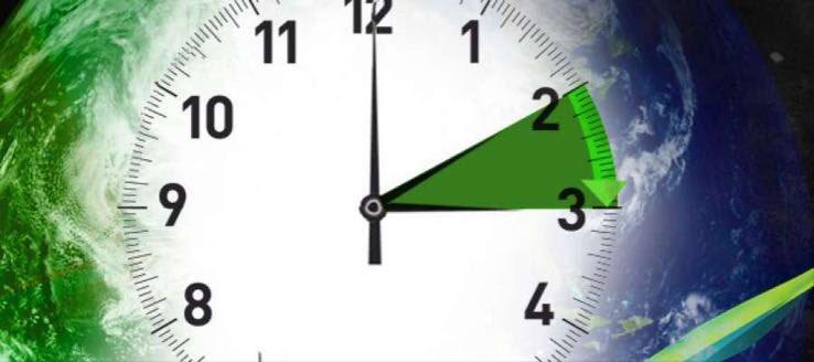 Cambio orario: l'ora esatta con il passaggio dall'ora solare all'ora legale di oggi