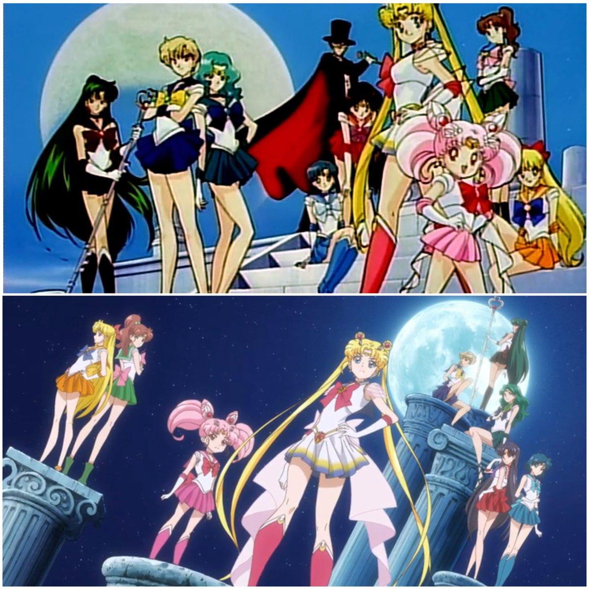 "*NEW* Sailor Moon Group 3/"" Button"