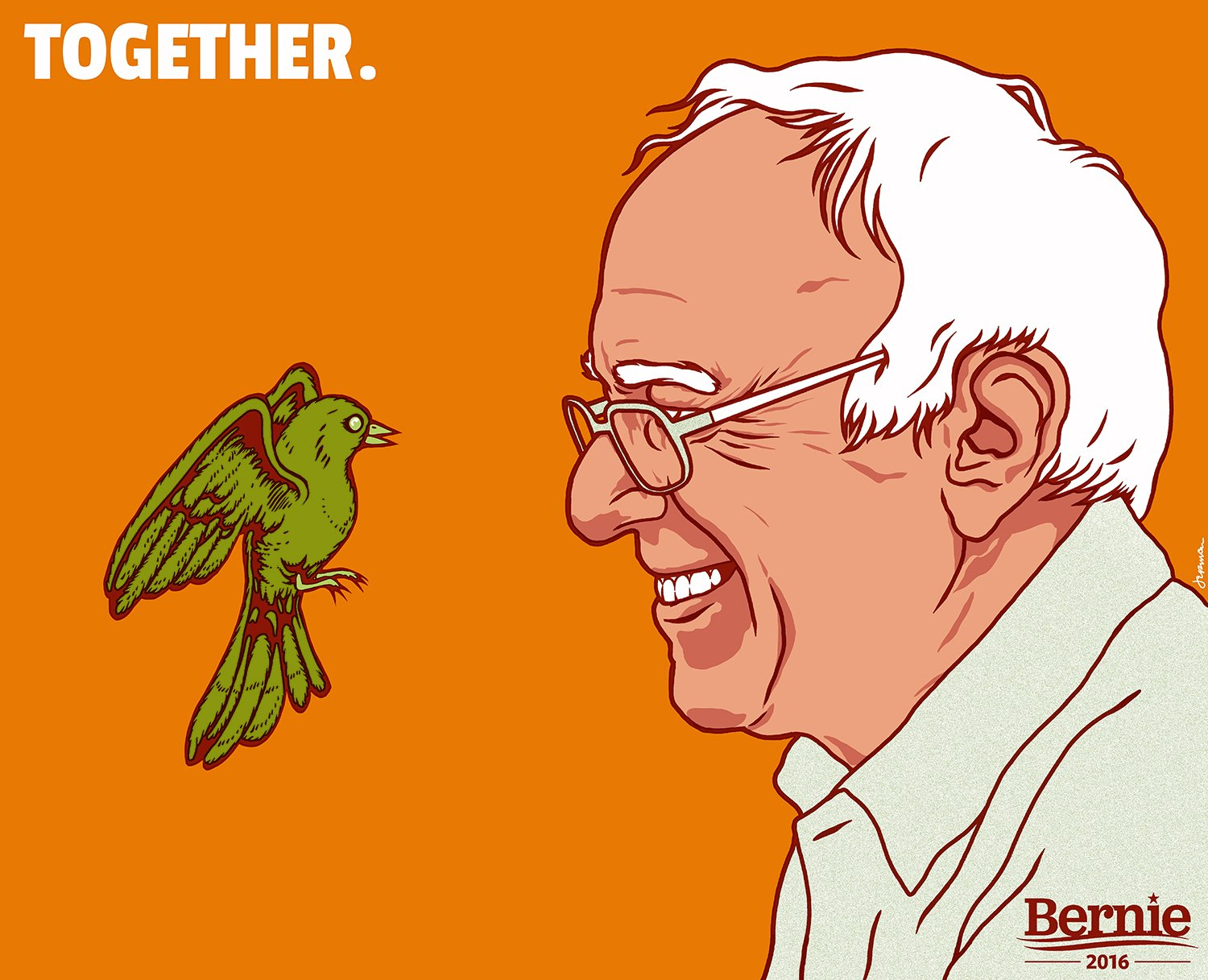 Sanders and house finch