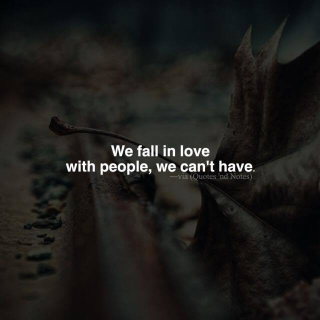 """Quotes 'nd Notes On Twitter: """"""""We Fall In Love With People"""