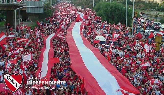 Les deseo un #FelizDiaDelHinchaDeIndependiente a toda hinchada del Rojo! https://t.co/17io5SYe7s