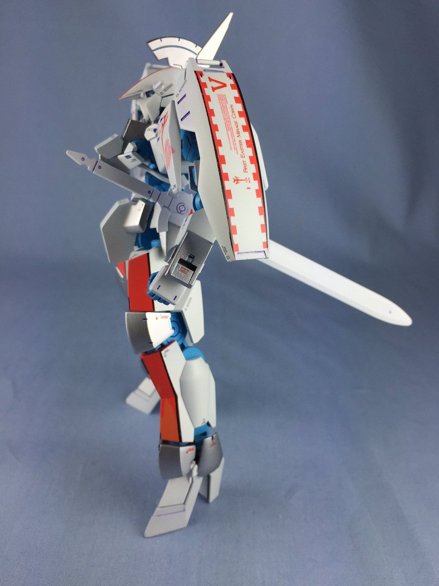 グレイズL.E.D.出来た〜! モーターヘッドというよりもヘビーメタル寄りになりました!  #鉄血MH #g_tekketsu