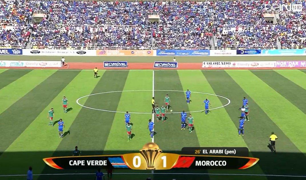 اهداف وملخص مقابلة المغرب وكاب فيردي 26-3-2016 تصفيات امم افريقيا,