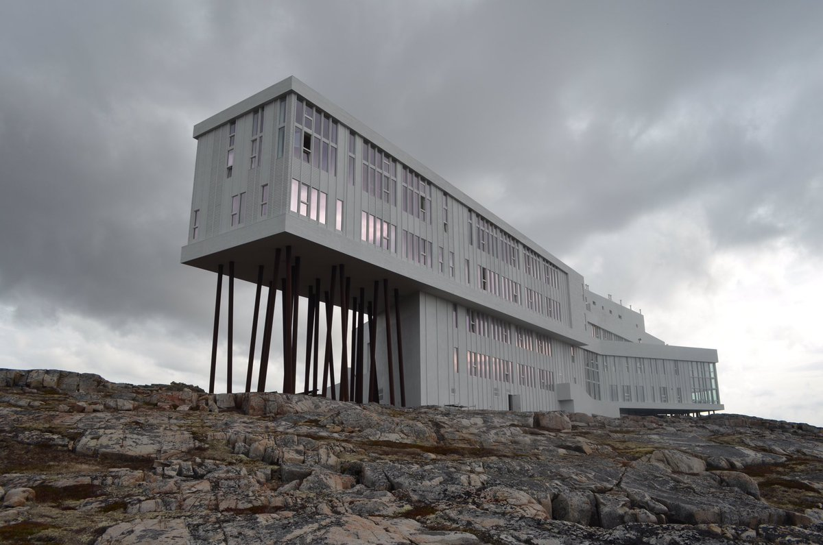 To see where @JustinTrudeau is spending the weekend, here's my 2013 feature on Fogo Island: https://t.co/SDptgeXPJd https://t.co/lDHlYu7Bkn