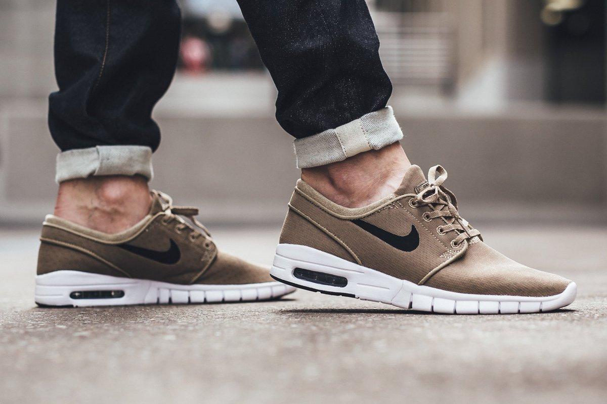 Nike Janoski Max Khaki
